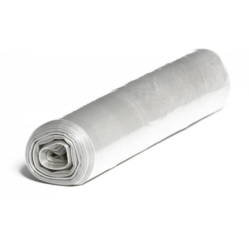 HDPE – Mikroténové vrecia na odpad 700x1100mm/0,02mm, transparentné, 120 litrov, 50 ks